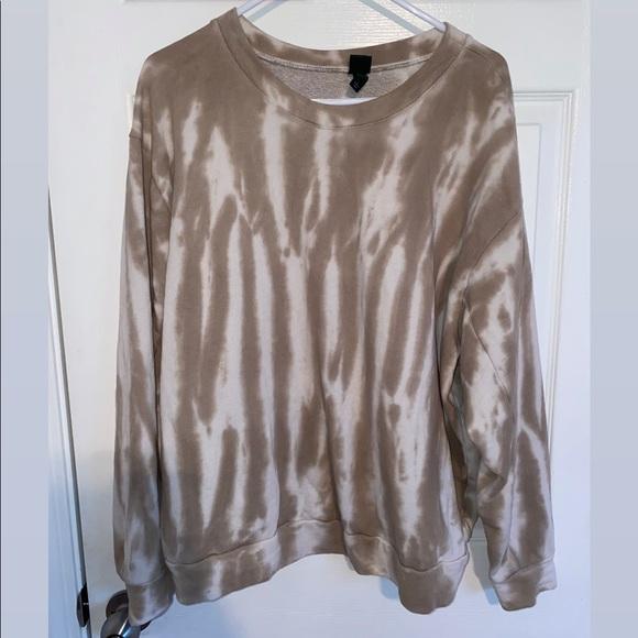 Wild Fable Tan Women's Sweatshirt - Size Large